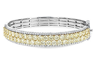 K189-93930: BANGLE 8.17 YELLOW DIA 9.64 TW